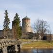 Medieval Olavinlinna castle in Savonlinna, Finland — Stock Photo
