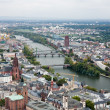 View to Frankfurt am Main — Stock Photo