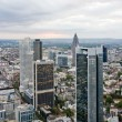 Skyscrapers in Frankfurt am Main — Stock Photo
