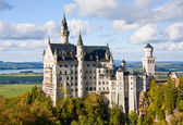 Castelo de neuschwanstein na alemanha — Foto Stock