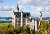 Neuschwanstein şatosu almanya — Stok fotoğraf