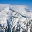 Winter mountains landscape in sunny day — Foto Stock