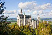 Neuschwanstein castle in Germany — Stockfoto