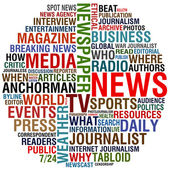 Media and news — Stock Photo