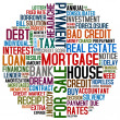 Mortgage and credit - Stock Photo