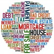 Mortgage and credit — Stock Photo
