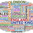 Uk cities - Stock Photo