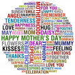 Happy mothers day - Stock Photo