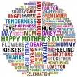 šťastné matky den — Stock fotografie