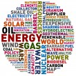 Stock Photo: Energy words