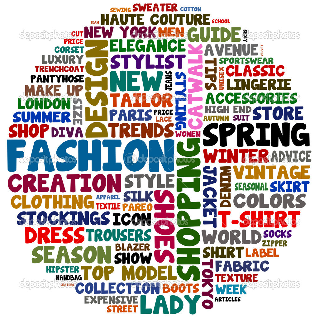 Fashion Words Stock Photo Mediterranean 9843612