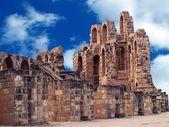 Amphitheater in El Djem — Stock Photo