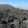 Stock Photo: Volcano's arid landscape