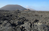 Volcano's arid landscape — Foto de Stock