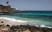 Small Lanzarote's beach bay — Stockfoto