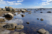 Rocky Swedish coast — Stock Photo
