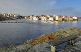 Karlskrona's winter landscape — Stock Photo