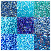Blue set — Stock Photo