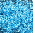 Stock Photo: Blue beads