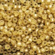 Yellow beads — Stock Photo #9539394