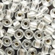 Stock Photo: White beads
