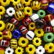 Stock Photo: Many-colored mix of beads