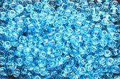 Blue beads — Stock Photo