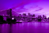 Ponte di brooklyn, new york — Foto Stock