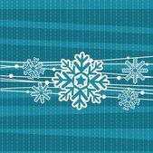 Cute snowflake — Stock Vector