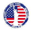 New york seal — Stock Vector #10562298
