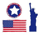 united states — Vector de stock