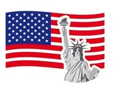 Statue of liberty — Stock Vector