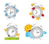 時計の季節 — ストックベクタ
