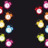 Clock alarm — Stock Vector