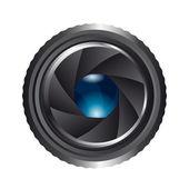 Camera shutter — Stock Vector