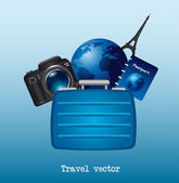 Travel vector — Stock Vector