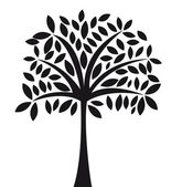árvore abstrata — Vetorial Stock