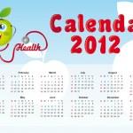 2012 calendar — Stock Vector #8195357