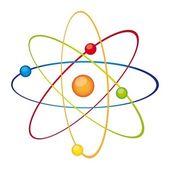 Atom vector — Stock Vector