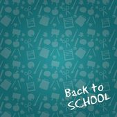 Back to school — Vettoriale Stock
