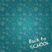 Wieder in die schule — Stockvektor