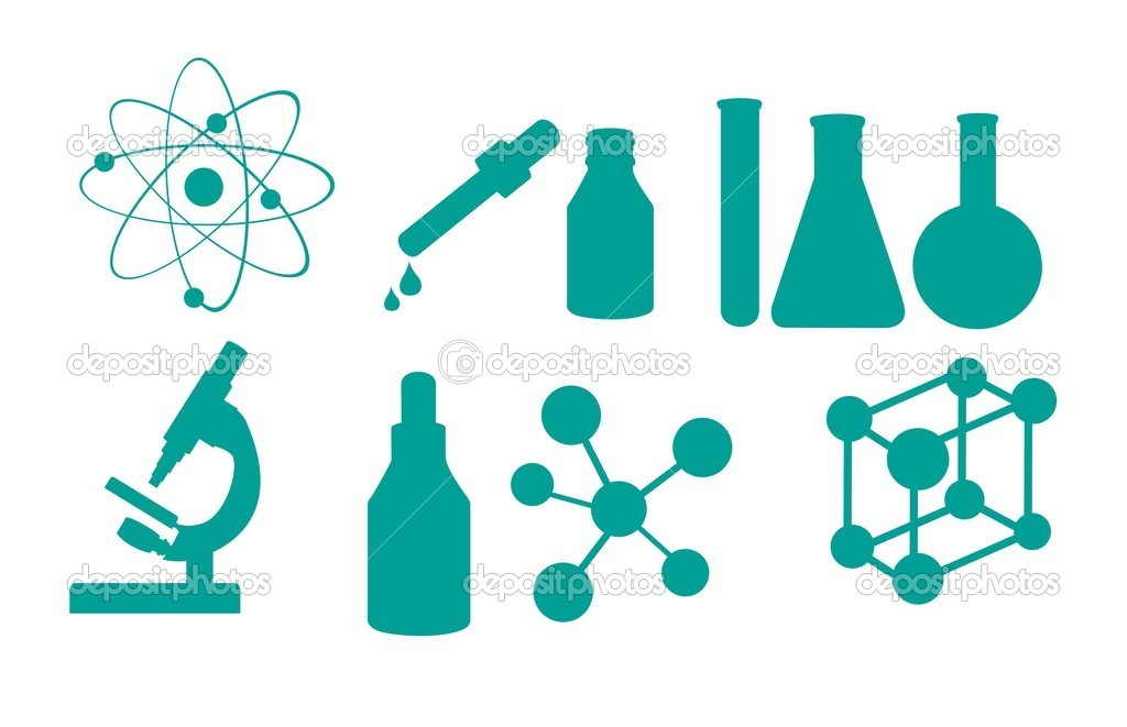 Science icons isolated over white background. vector illustration  Stock Vector #8532830