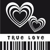 True love — Vector de stock