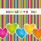Valentines day — Vector de stock