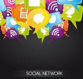 Netwerk — Stockvector