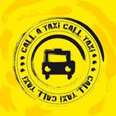 Taxi stamp — Stock Vector