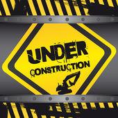 En cours de construction — Vecteur