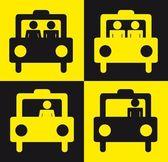 Taxi sign — Stock Vector