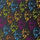 Musik-hintergrund — Stockvektor