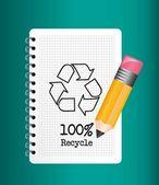 リサイクルの記号 — ストックベクタ